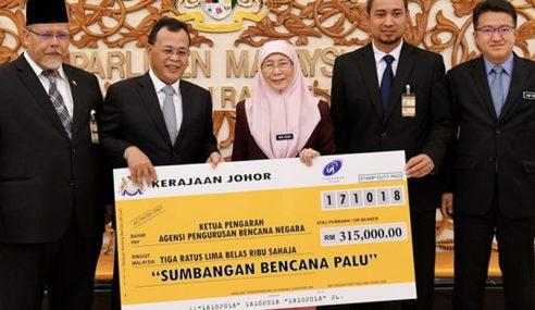 Malaysia Salur Bantuan RM1.5 Juta Kepada Indonesia