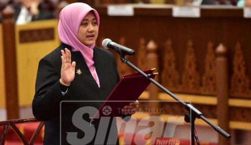Zuraida ADUN Wanita Pertama Di Terengganu