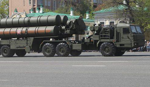 Rusia Hantar Peluru Berpandu S-400 Ke Crimea