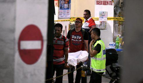 5 Lelaki Ditembak Mati Lepas Samun Kedai Emas