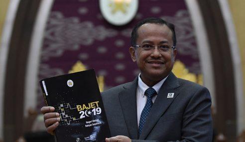 Bajet 2019 Terengganu Sediakan Peruntukan RM2.015 Bilion