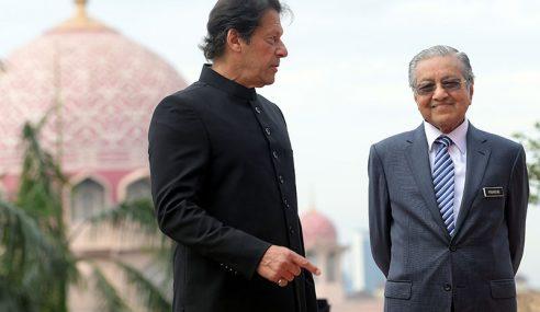 Mahathir Rai Imran Khan Di Seri Perdana