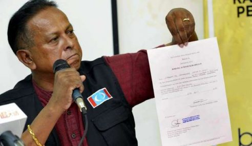 PRU14: Dr Streram Akan Pinda Penyata Tuntutan