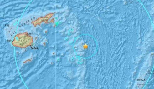 Gempa Bumi Kuat Landa Rantau Kepulauan Fiji