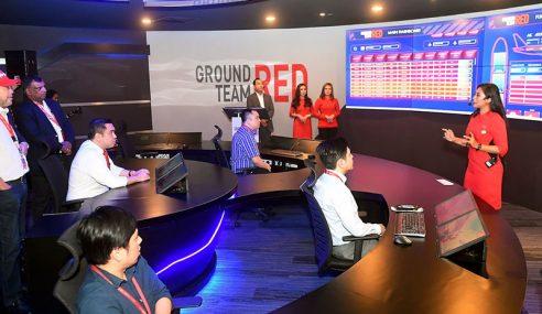 GTR AirAsia Perkenalkan Pusat Kawalan Digital Yang Pertama Di Malaysia