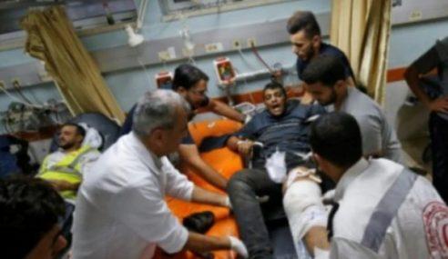 Ribuan Warga Gaza Cedera Berisiko Dapat Jangkitan