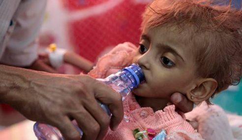Lebih 7 Juta Kanak-Kanak Yaman Berdepan Kebuluran