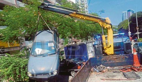 'Besi Buruk' Tersadai Jejas Ibu Kota