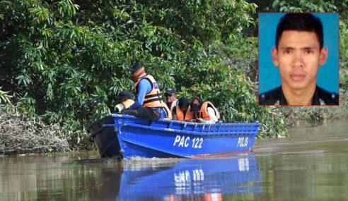 Mayat Anggota Polis Terjatuh Dalam Sungai Paka Ditemui
