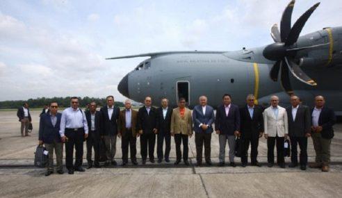 Menteri Pengerusi Mesyuarat J/K Sempadan Malaysia
