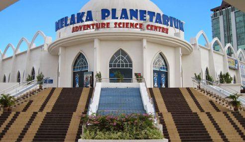 Planetarium Melaka Baharu Dibina Kos RM200 Juta