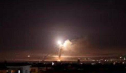 Tentera Syria Tembak Jatuh Jet Pejuang Israel