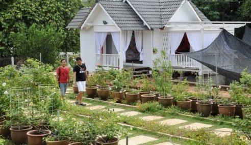 Tengkujuh Tak Jejas 'Taman Ros' Terengganu