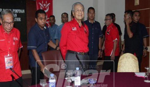 Mahathir Bertemu Dengan Pimpinan PPBM Kelantan