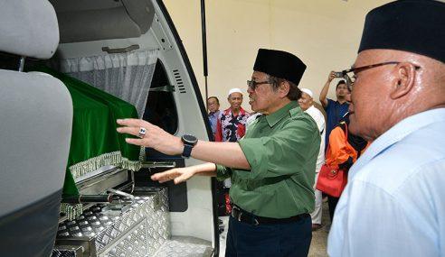 RM9 Juta Naik Taraf Masjid Bahagian Serian