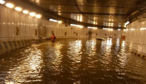 Beberapa Kawasan Di Ibu Negara Terjejas Banjir Kilat