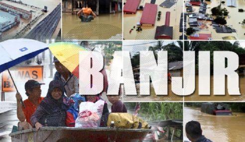 Mangsa Banjir Di Melaka Turun Kepada 987 Orang