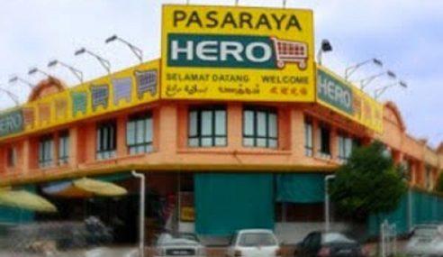 HERO Buka 7 Lagi Pasar Raya Dalam 3 Tahun