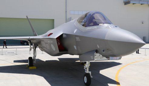 Jepun Beli 100 Lagi F-35 Untuk Saingi China
