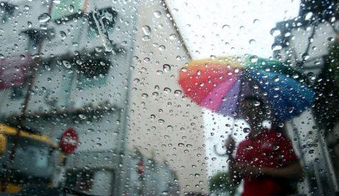 Hujan Lebat Di Terengganu, Pahang Jumaat Hingga Ahad