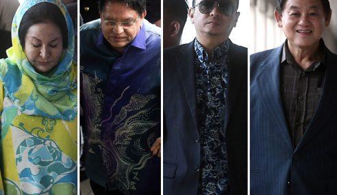 Kes Rasuah: Rosmah, Ku Nan, Rizal, Tan Bayar Wang Jamin