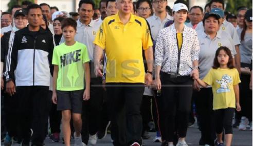 Sultan Nazrin, Tunku Zara Berkenan Sertai Larian Hari Keputeraan Sultan Perak