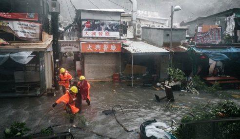 Taufan Mangkhut Sebabkan Macau Rugi US$192 Juta