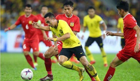 Harimau Malaya Berjaya Benam Myanmar 3-0
