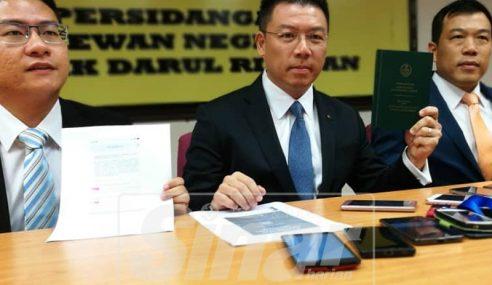 Wujud Konspirasi Jatuhkan MB Perak – Nga Kor Ming