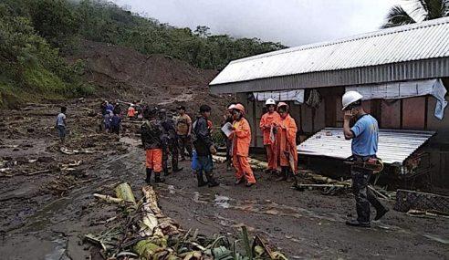 30 Terperangkap Akibat Tanah Runtuh Di Filipina