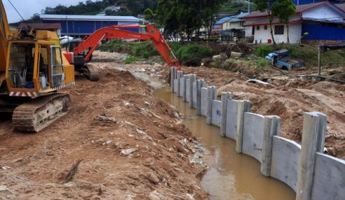 5 Projek Rancangan Tebatan Banjir Di Pahang