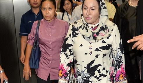 Rosmah Dijangka Didakwa Esok