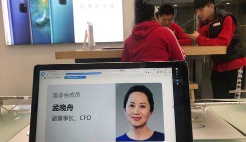 China Desak Bebas Eksekutif Huawei