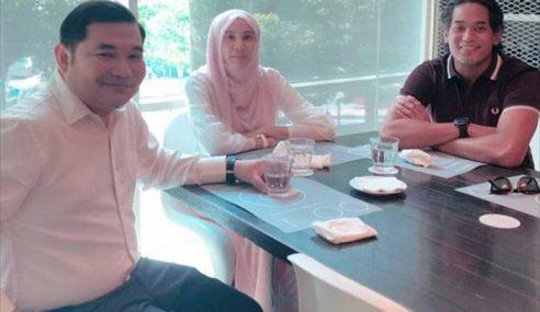 Nurul Izzah, Rafizi Dan KJ Minum Bersama Di Bangsar
