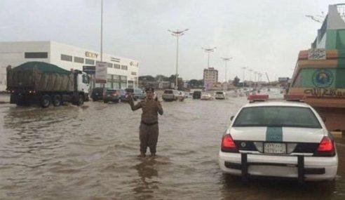 Arab Saudi Berdepan Cuaca Melampau