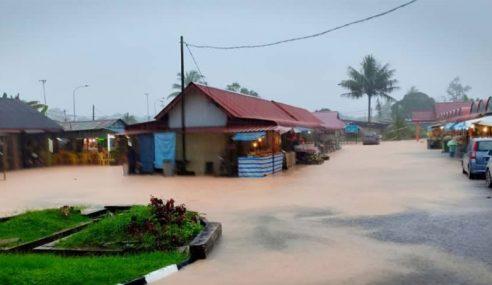 605 Penduduk Kota Tinggi Dipindahkan Akibat Banjir