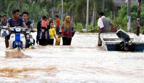 Banjir Di Terengganu Semakin Pulih