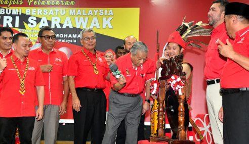 PPBM Di Sarawak Atas Kehendak Rakyat – Mahathir