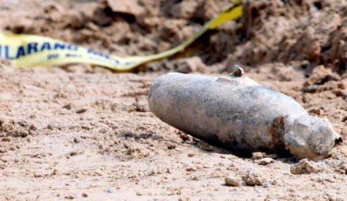 Bom Lama Ditemui Di Perkampungan Ulu Kedup