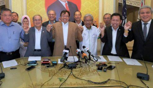 2018 Menyaksikan GPS Memerintah Sarawak
