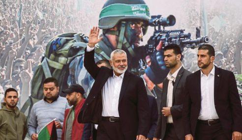 Hamas Mahu Palestin Bersatu