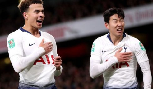 Heung-Min Son, Dele Alli Bantu Tottenham Balas Dendam Ke Atas Arsenal