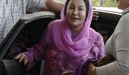 Rosmah Kekal Pengakuan Tidak Bersalah 17 Pertuduhan
