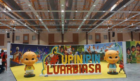 'Karnival Upin & Ipin 2018' Mulai 20 Dis Di Maeps, Serdang