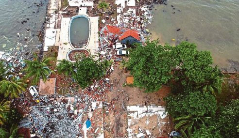 Korban Tsunami Krakatau Kini 222 Orang
