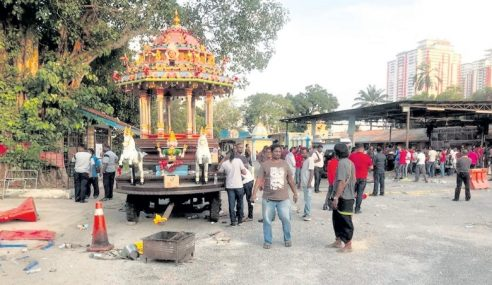 Amaran DBKL: Daftar Kuil Sebelum Bina