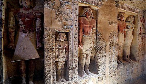 Makam Purba 4,400 Tahun Ditemui Di Mesir
