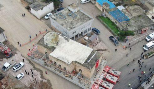 Pindah Masjid Lama Bimbang Ditenggelami Bah