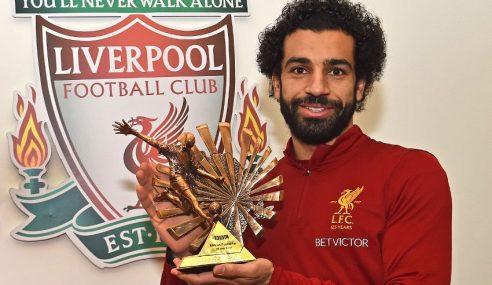 Mohamed Salah Pemain Terbaik Afrika