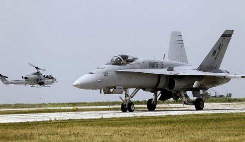 2 Pesawat Tentera Amerika Syarikat Terhempas Di Jepun